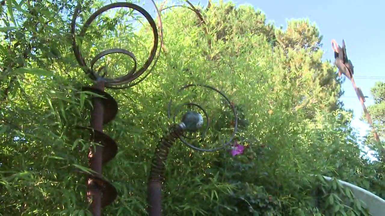 Yard Sculptures Yard Art Youtube
