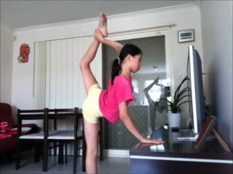 How To Do A Scorpion - Scorpion Tutorial - Dance, Gym, Cheer - YouTube