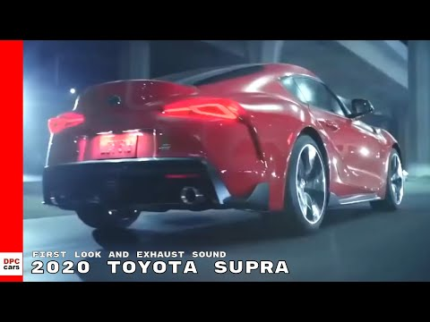 2020 Toyota Supra First Look and Exhaust Sound