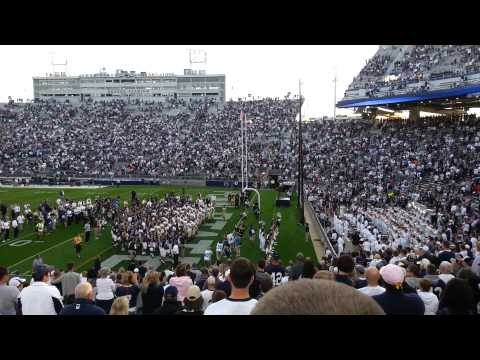 Penn State joins Navy for Fight Song after game