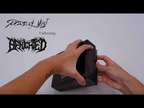 Benighted -  Unboxing 'Breeee' box 'Obscene Repressed'