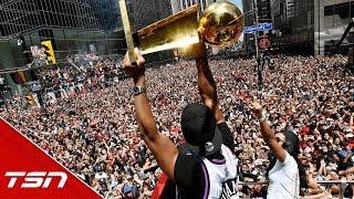Raptors take to the streets to celebrate NBA Championship