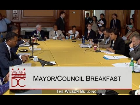 Mayor/Council Breakfast, 6/23/15