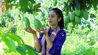 I love my mango fruit in my homeland tasty - Polin Lifestyle