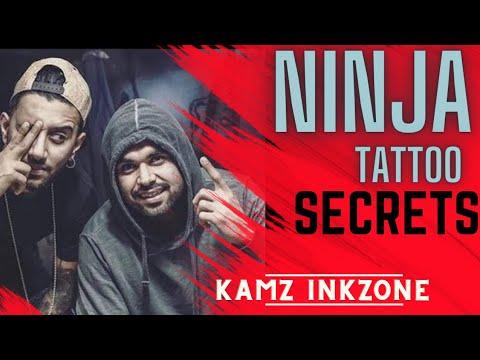 NINJA | Tattoo  | Kamz Inkzone Baby | New Tattoo 2017