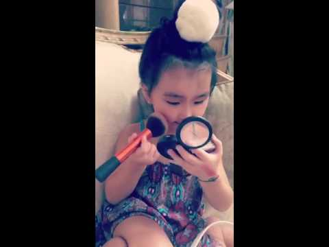 Year Old Girl Learn Make Up Tutorial From You And Want To Look Like Her Mother