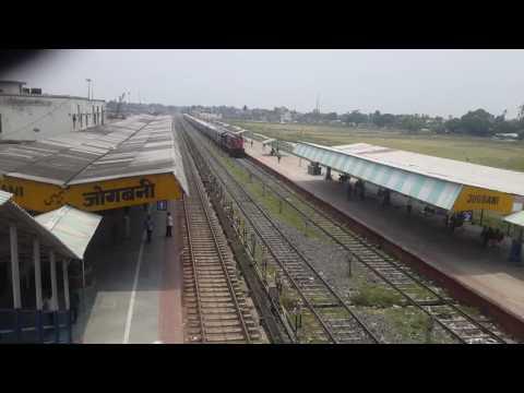 Train in jogbani Nepal india border