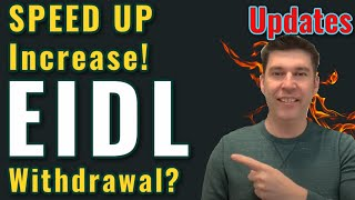 Breaking EIDL - SPEED UP Loan! Withdrawal on Purpose? Updates Grant Approval