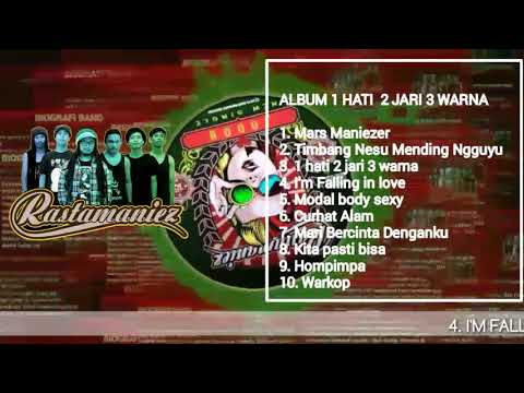 RASTAMANIEZ FULL ALBUM 1HATI 2JARI 3WARNA | REGGAE INDONESIA