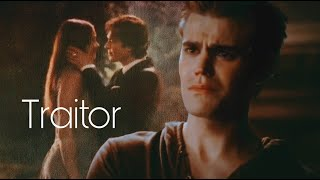 TVD Stefan and Elena - Traitor (Olivia Rodrigo)