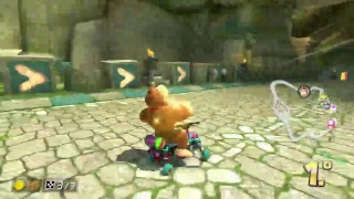 Mario Kart 8, Sequencia de 1° Lugar, online, modo mundial.