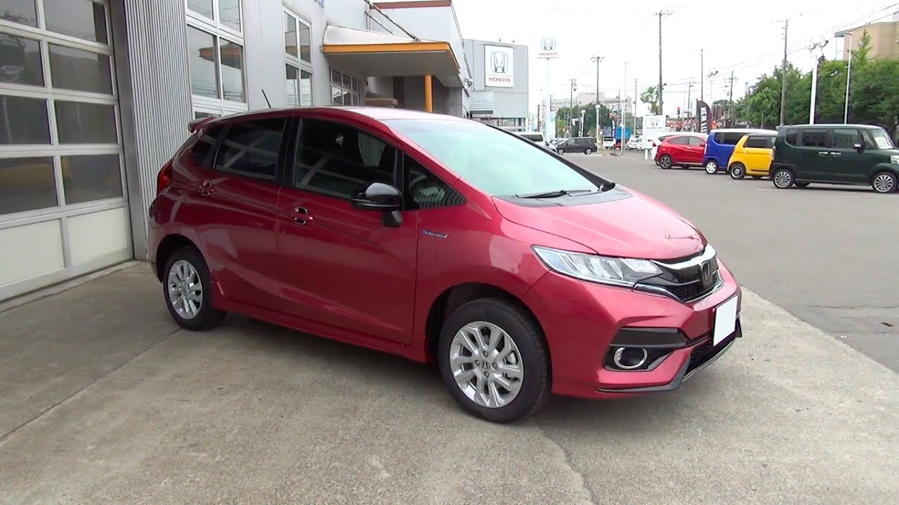 20172018 New Honda Fitjazz Hybrid 4wd Exterior Interior Youtube
