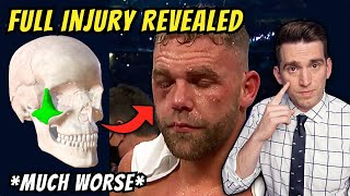 *UPDATE* Billy Joe Saunders Eye Injury DETAILS REVEALED vs Canelo Alvarez - Doctor Explains