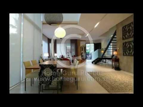 For sale 3.5 storey Semi D landed house near Serangoon Garden Singapore