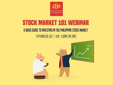 PSE's Stock Market 101 Webinar
