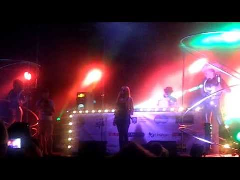 Shaun Baker ft. Jessica Jean (Live in Poland 2013) House Music Village Uniejów