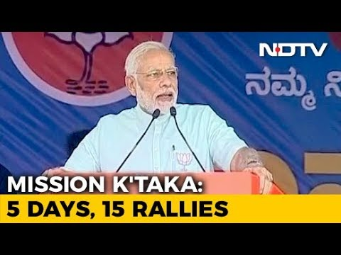 'At Least Listen To Your Mother': PM Modi To Rahul Gandhi At Karnataka Rally