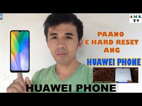 PAANO E HARD RESET ANG HUAWEI PHONE (REFORMAT)