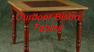 Pine Outdoor, Cedar Outdoor Tables, Rustic Outdoor Tables