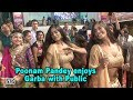 Poonam Pandey enjoys Garba with Public