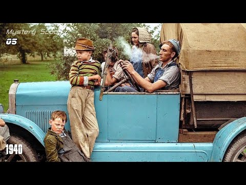 Stunning Colorized Photos That Show Life In America in 1930s and 1940s