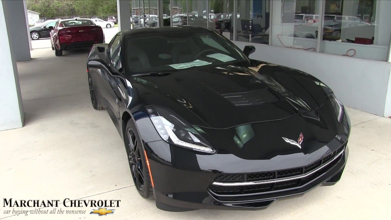 2017 Chevrolet Corvette Stingray Walkaround Review At Marchant Chevy Specs Options