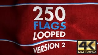 4K Animated Flags Pack V2, CandyMustache