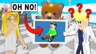 My NEON Bear ATE My CRUSH In Adopt Me! (Roblox)