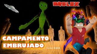 CAMPAMENTO EMBRUJADO, MONSTRUO Y EXTRATERRESTRES JUGANDO Roblox   Peluso Gamer