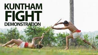 Kuntham fight Demonstration |Spear Fight
