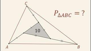Zagadka - Ile jest równe pole trójkąta ABC?