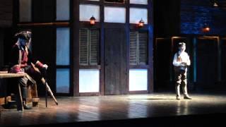 """Дуэт Джима и Сильвера. Мюзикл """"Остров сокровищ""""(Аквамарин). 19.03.15"""