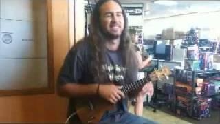 Thundercats theme with ukulele:  Eleuke SLT-MP3