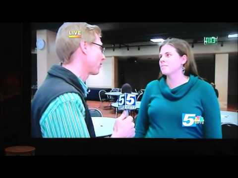 LGA's Emily DeBolt Live on News Channel 5 WPTZ at 6 on March 14
