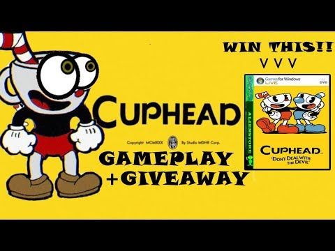 Hardest Game in Existence!!! | Cuphead Gameplay + Giveaway