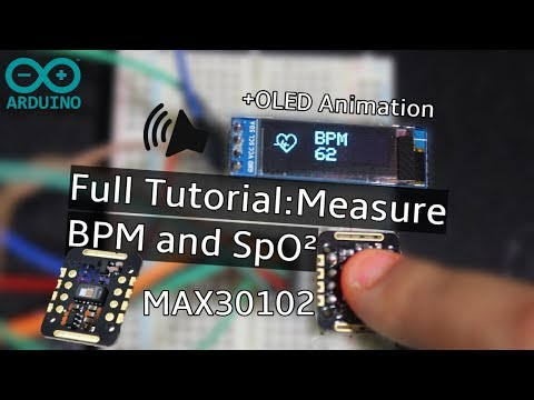 Measure Heart Rate and SpO2 with MAX30102 - Arduino Project Hub