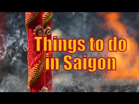 THINGS TO DO IN SAIGON - Top Attractions in Ho Chi Minh City, Vietnam - 동영상