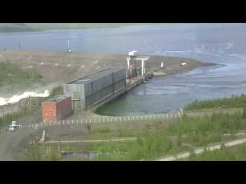 Светлогорск, Курейская ГЭС