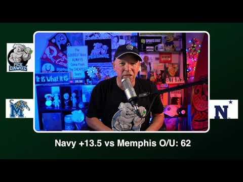 Navy vs Memphis 11/28/20 Free College Football Picks and Predictions CFB Tips
