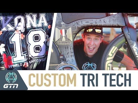 Custom Triathlon & Bike Tech From Kona | 2018 Ironman World Championships