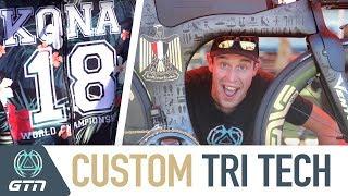 Custom Triathlon & Bike Tech From Kona   2018 Ironman World Championships
