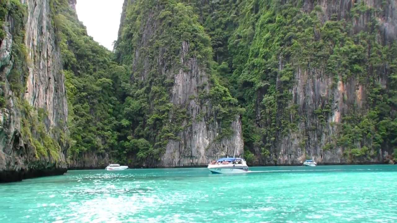Blue Lagoon Phi Phi Leh Island Thailand Hd Youtube