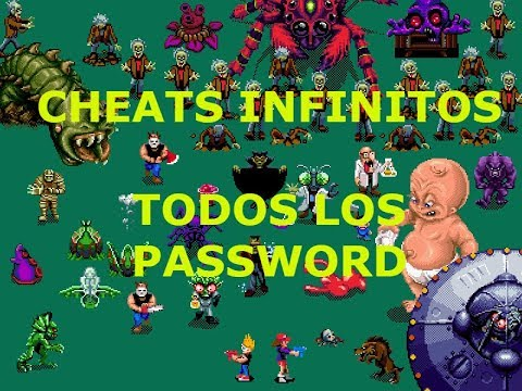 Zombies Ate My Neighbors   CHEATS INFINITOS Y PASSWORD