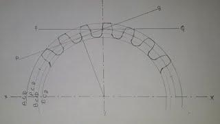 Gear drawing | mechanical engineering gear drawing || gear assembly | gear