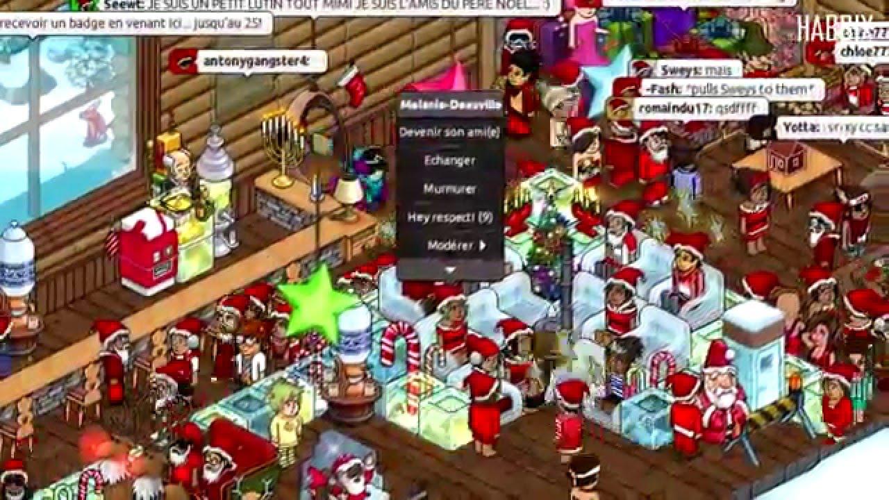 (Archives) Noël 2012 sur Habbix Hôtel - YouTube