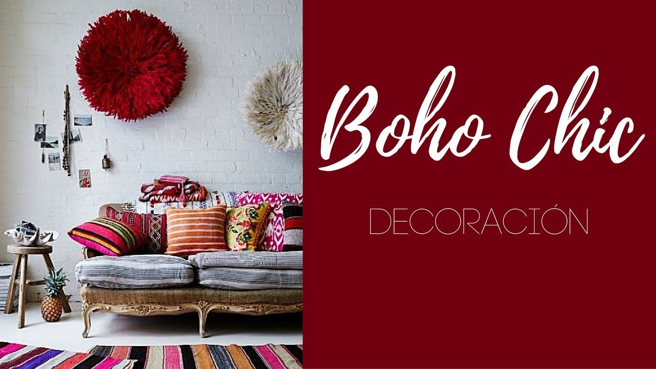 BOHO CHIC DECORACIN ideas e inspiracin YouTube