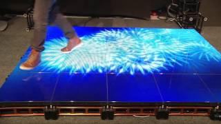 Интерактивные светодиодные экраны и панели(Интерактивные светодиодные панели, полы, стены и потолки. Разработка управления www.show-led.ru., 2016-06-13T18:28:27.000Z)