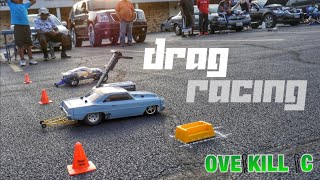 BURNIN' RUBBER & ELECTRONICS $$ | Scale R/C Drag Racing | Overkill RC