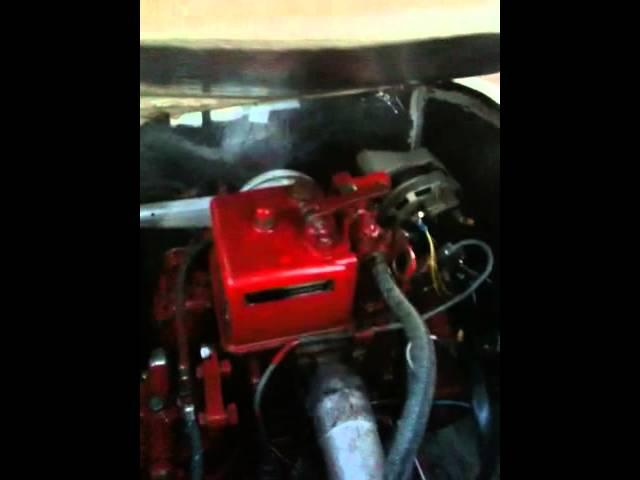 Bukh 1-cyl diesel