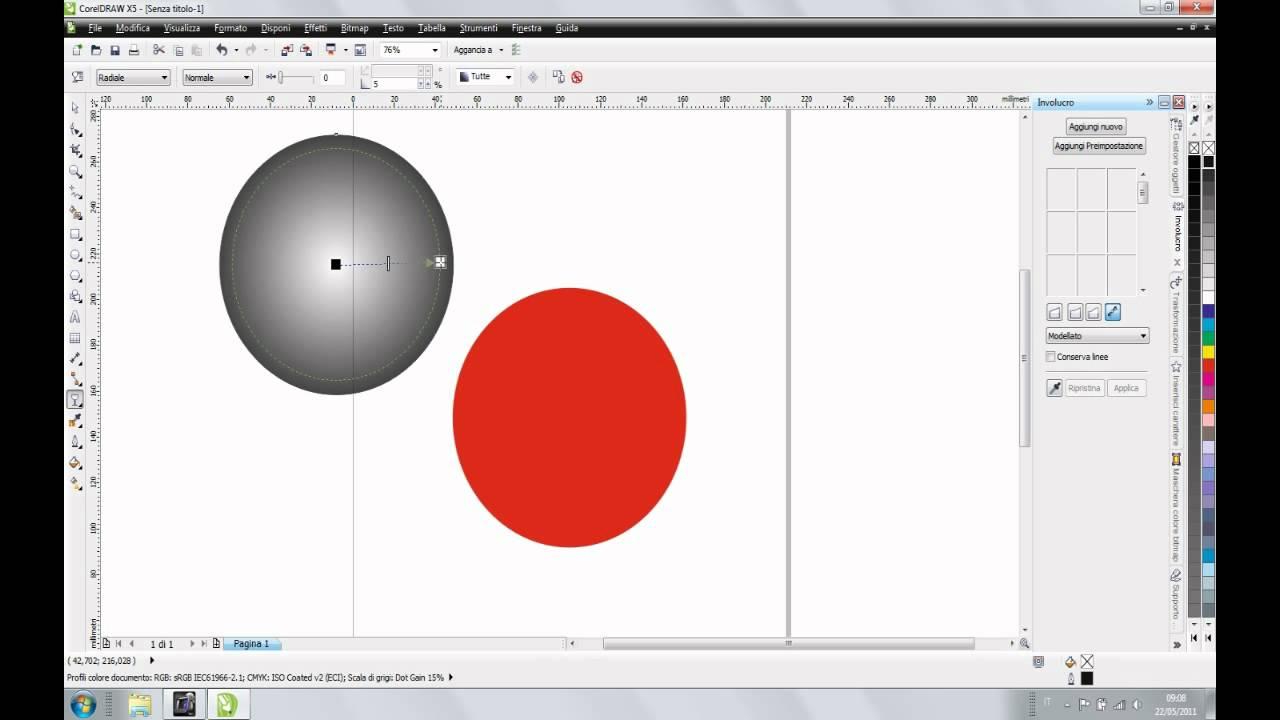 tutorial corel draw sfera 3d youtube. Black Bedroom Furniture Sets. Home Design Ideas